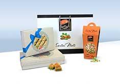 بسته بندی خشکبار و شیرینی