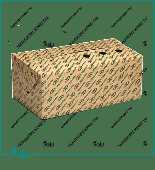 جعبه مرغ 3 تکه مدل kfc