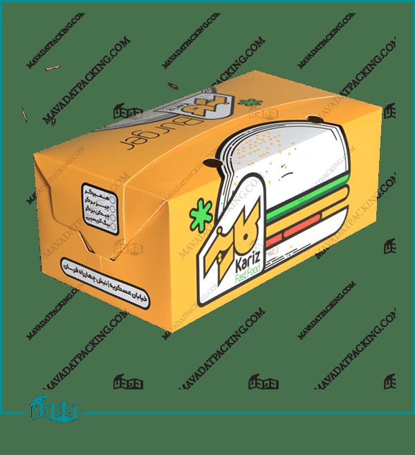 جعبه مرغ لاک باتم درب هلالی