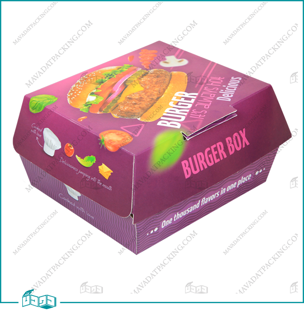 جعبه برگر صدفی