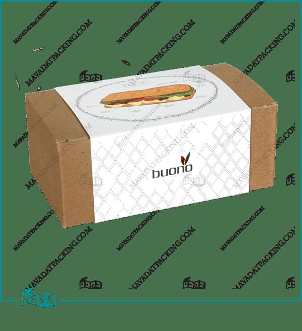 جعبه ساندویچ کاوردار