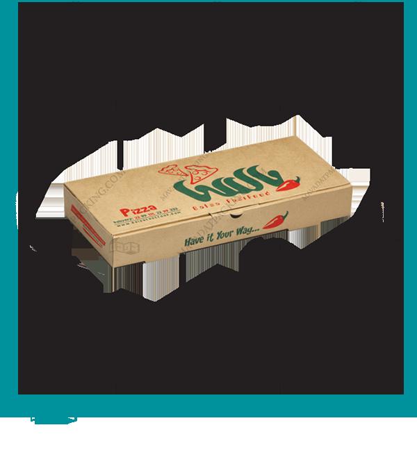 جعبه پیتزا سه لایه