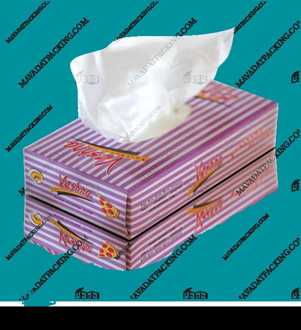 دستمال کاغذی جعبهای