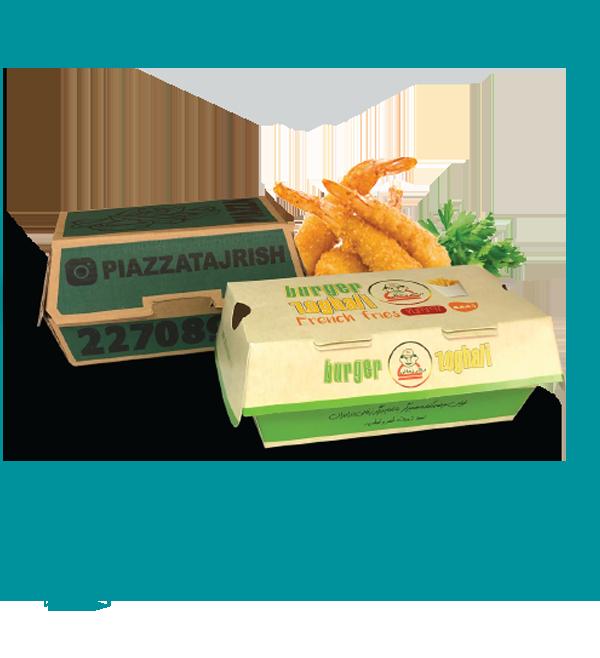 جعبه چند منظوره مدل صدفی حجمی