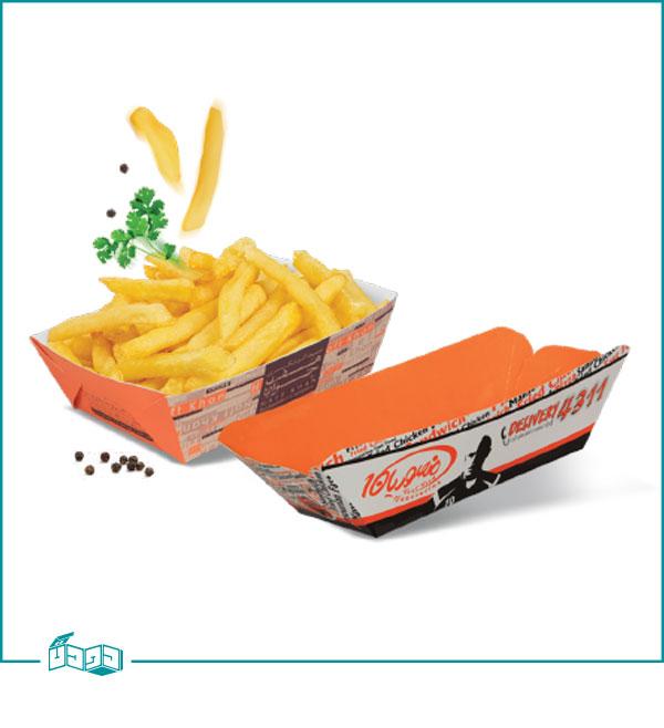بشقاب چند منظوره پیش غذا مدل قایقی قفلی